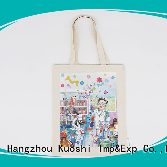 KUOSHI canvas tote bags online for business for school