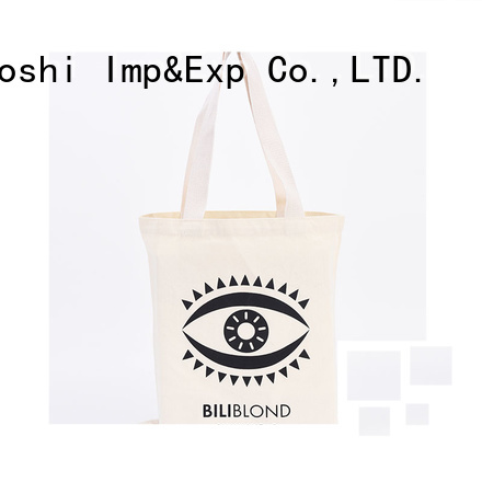 custom cotton fancy bags handle company for events