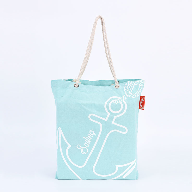 Fashion Cotton Tote Bag With String Handle Wholesale