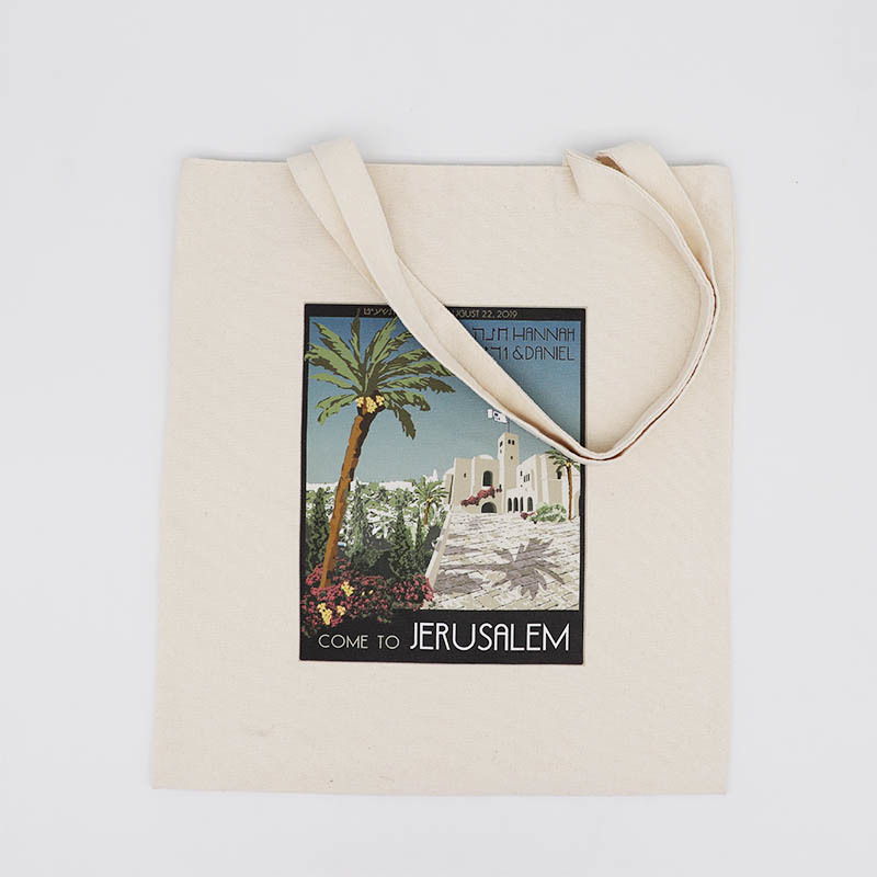 Custom Heavy Canvas Tote Bag with Bottom