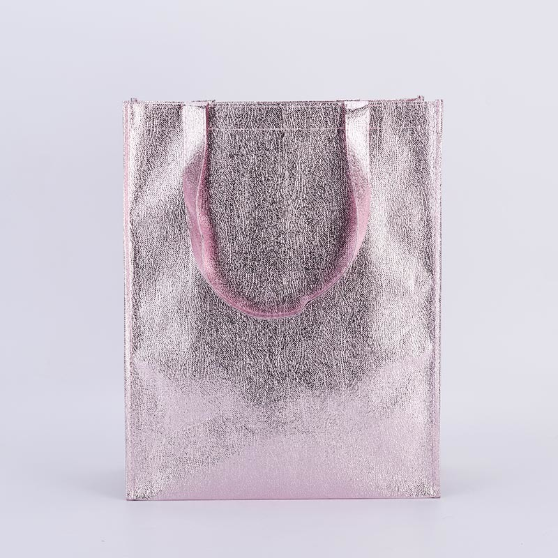 Large Nature Color Cotton Tote Bag Non Woven Shopping Bags