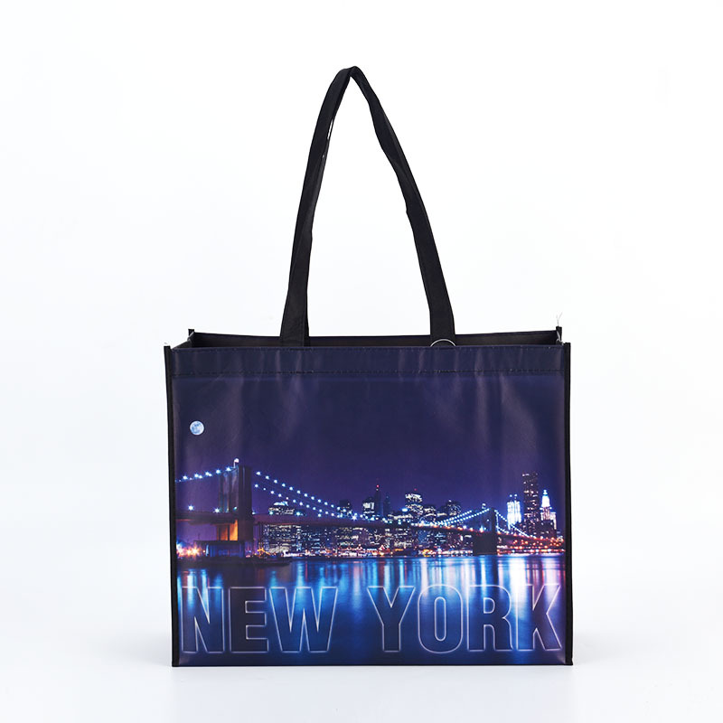 Large Nature Color Cotton Tote Bag