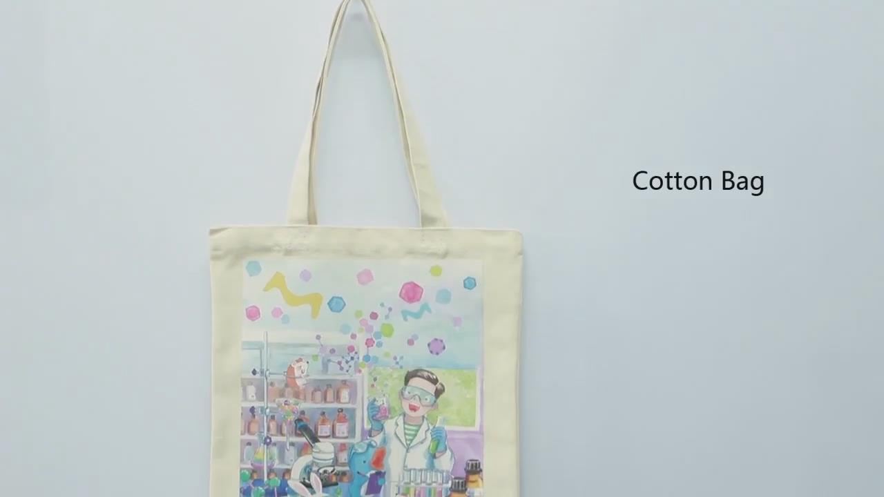 Nice Printing Cotton Bag