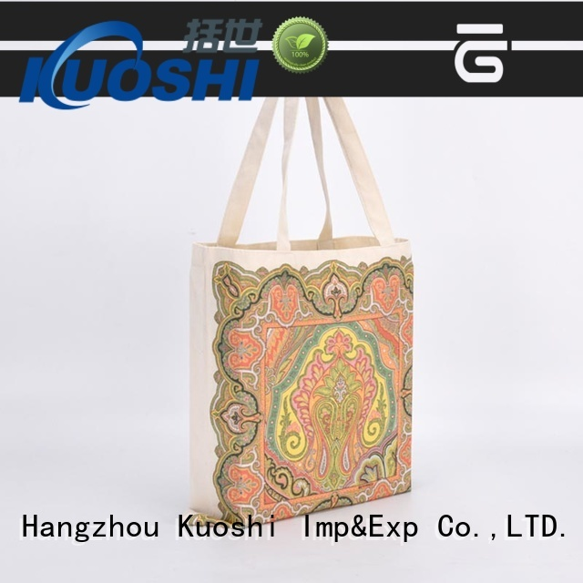 custom personalized reusable bags nature for business for trade shows