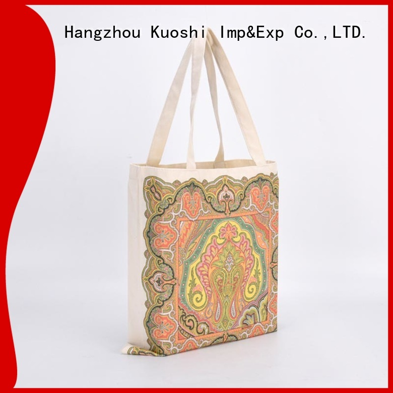 KUOSHI organic mini cotton tote bags company for trade shows