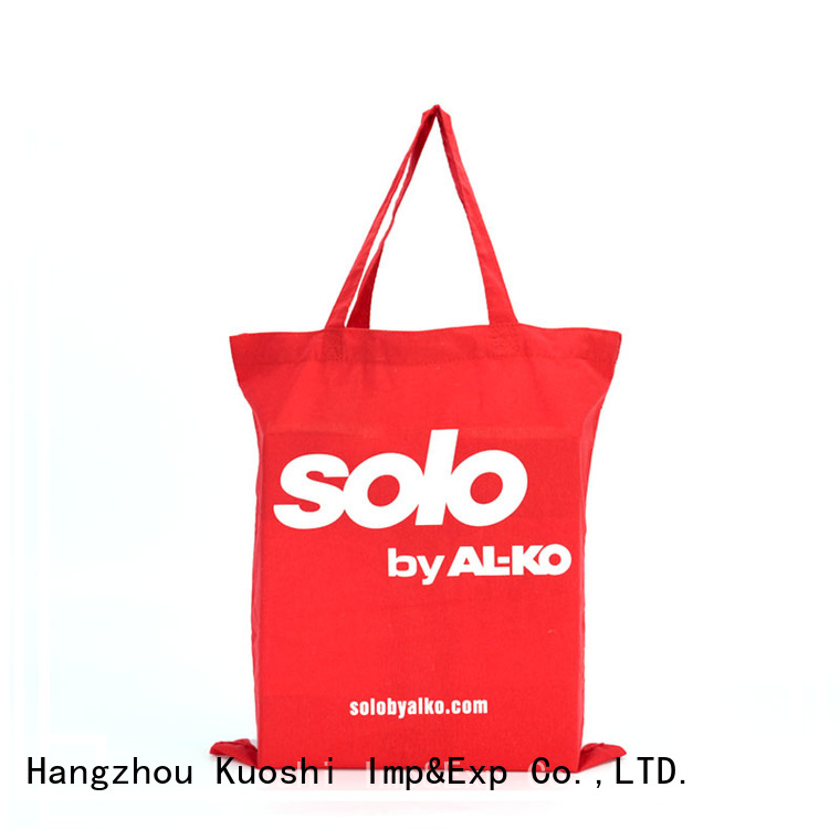 KUOSHI high-quality chic canvas tote bags manufacturers for beach visit