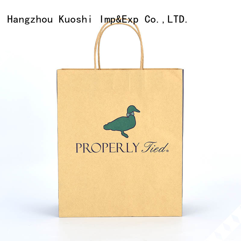 KUOSHI top large kraft paper bags supply for restaurant