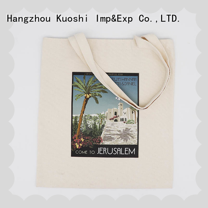 KUOSHI wholesale large canvas bag suppliers for trade shows