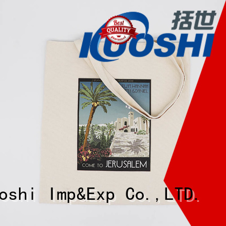 KUOSHI wholesale cotton linen bags for events