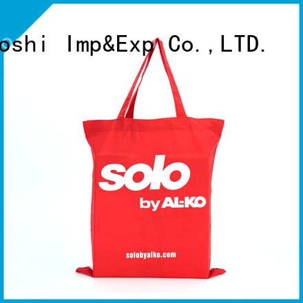 KUOSHI cotton muslin tote company for grocery shopping
