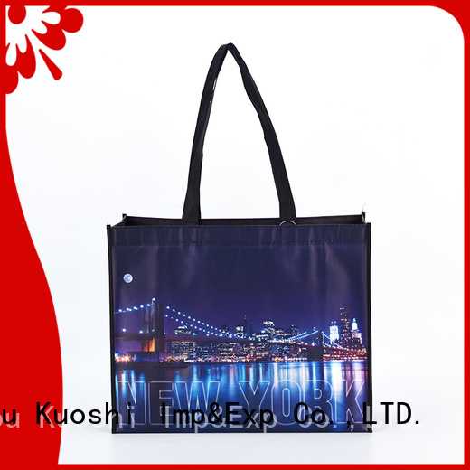KUOSHI latest non woven bag cost supply for grocery shopping