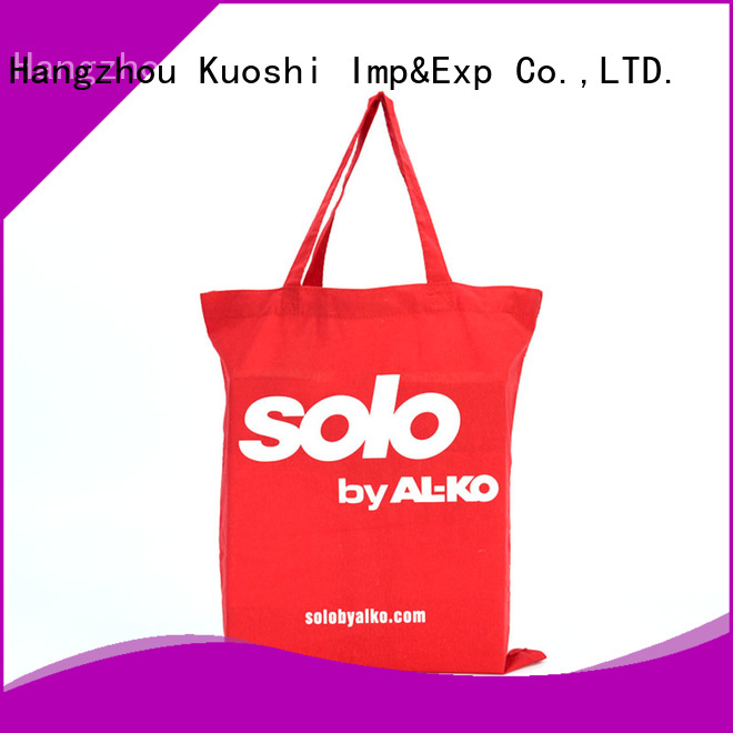 KUOSHI tote buy canvas bags supply for supermarket