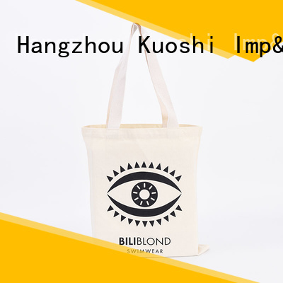 KUOSHI bag small black canvas tote bag supply for park