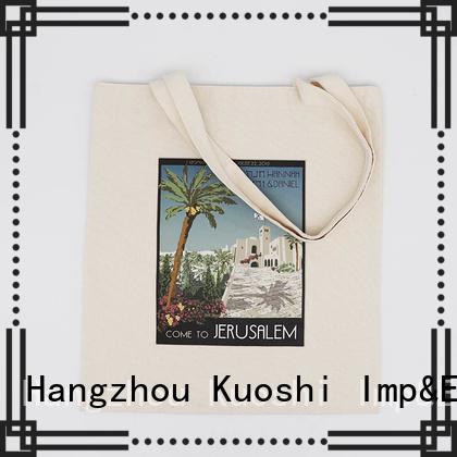 KUOSHI high-quality custom muslin bags for school