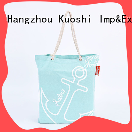KUOSHI 10oz canvas personalized cotton tote bags for business for office work
