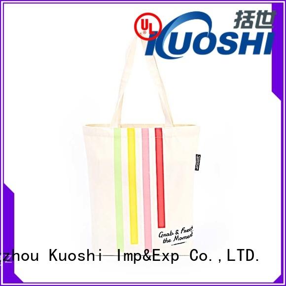 wholesale designer tote bag canvas logo factory for beach visit