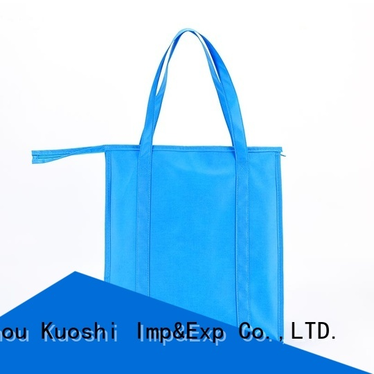 KUOSHI wholesale blue cooler bag suppliers for wine