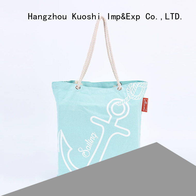 KUOSHI best cotton canvas grocery bags company for park