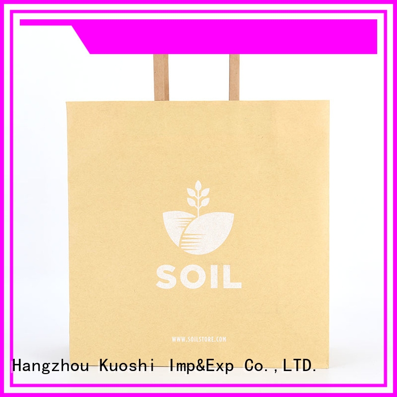 KUOSHI best buy large paper bags company for vegetables