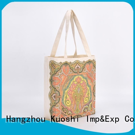 KUOSHI high-quality cloth drawstring pouch manufacturers for grocery shopping