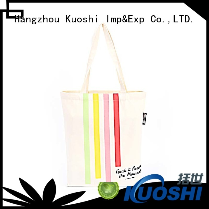 KUOSHI buy canvas tote bags in bulk company for park