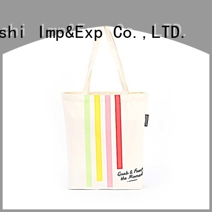 KUOSHI heavy canvas custom canvas tote bag suppliers for daily activities