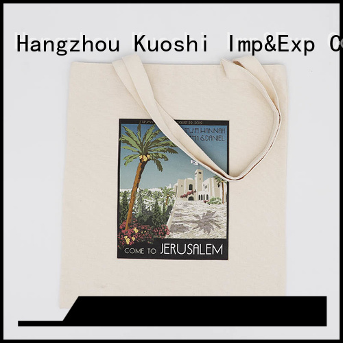 KUOSHI best canvas tote bags online supply for school