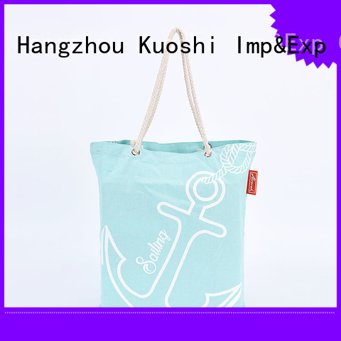KUOSHI latest cotton fabric bags factory for grocery shopping