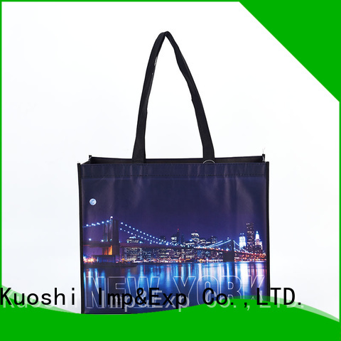 KUOSHI nature non woven bags distributors suppliers for trade shows