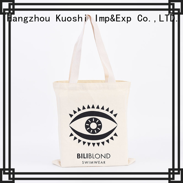 KUOSHI top promotional canvas tote bags factory for shopping