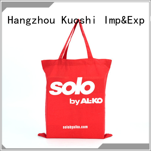 KUOSHI top purple canvas tote bags supply for park