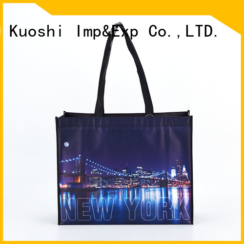 KUOSHI latest non woven bag material suppliers for daily activities