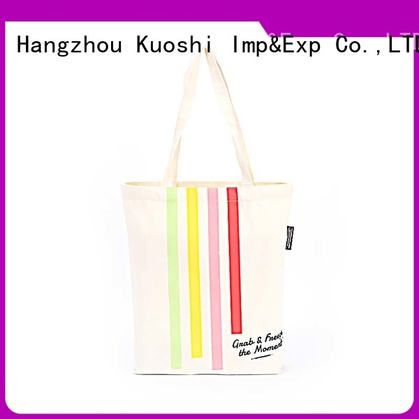 best custom canvas tote bag cotton supply for grocery shopping
