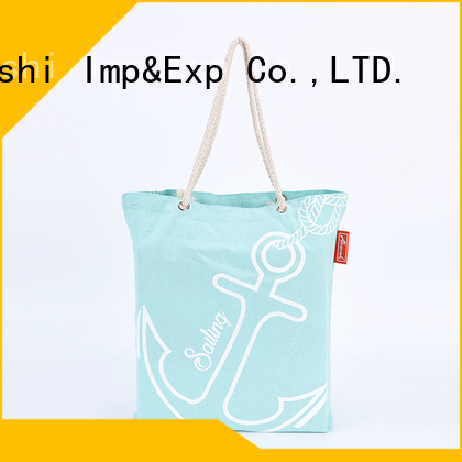 KUOSHI custom small canvas tote bags with zipper factory for park