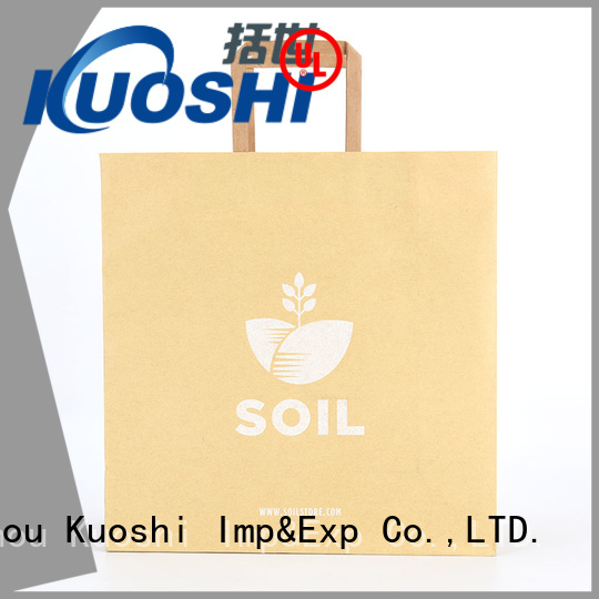 KUOSHI brown paper bag suppliers manufacturers for restaurant