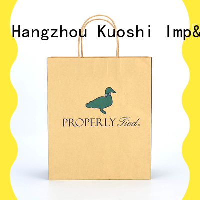 KUOSHI handles paper bag small size supply for restaurant