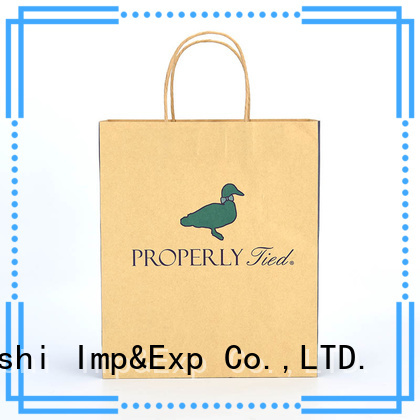 high-quality gift shopping bags wholesale printing suppliers for supermarket