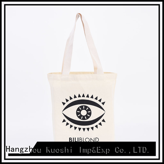 KUOSHI bag personalized cotton bags company for grocery shopping