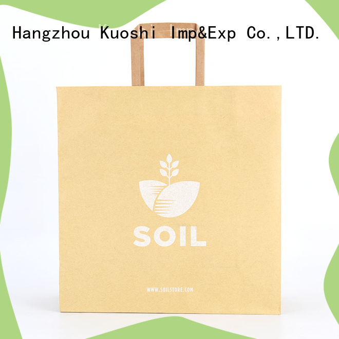 high-quality small plain paper bags quality supply for supermarket