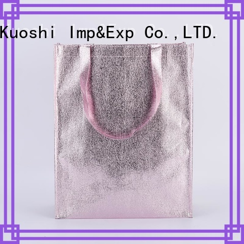 KUOSHI cotton woven recycled bags factory for daily activities