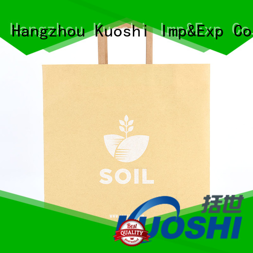 KUOSHI buy small brown paper bags supply for restaurant