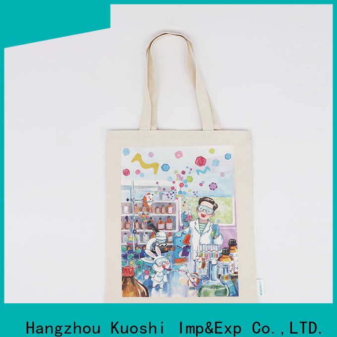 new cotton fabric bags bag with for park
