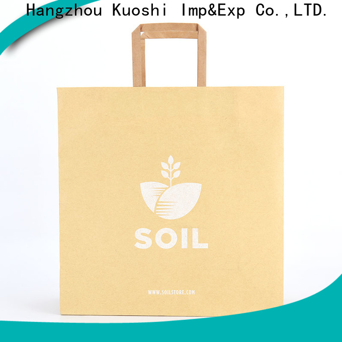 KUOSHI quality sturdy paper bags manufacturers for supermarket