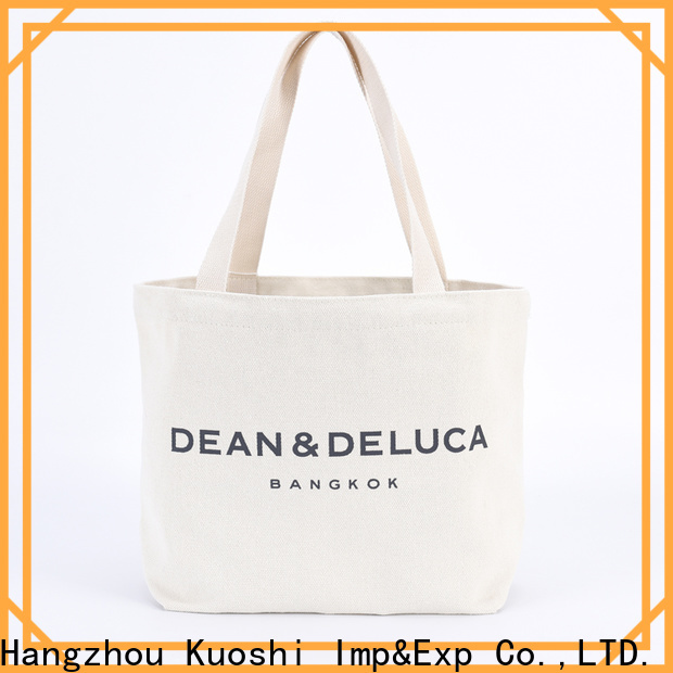 KUOSHI wholesale long canvas bag for business for events