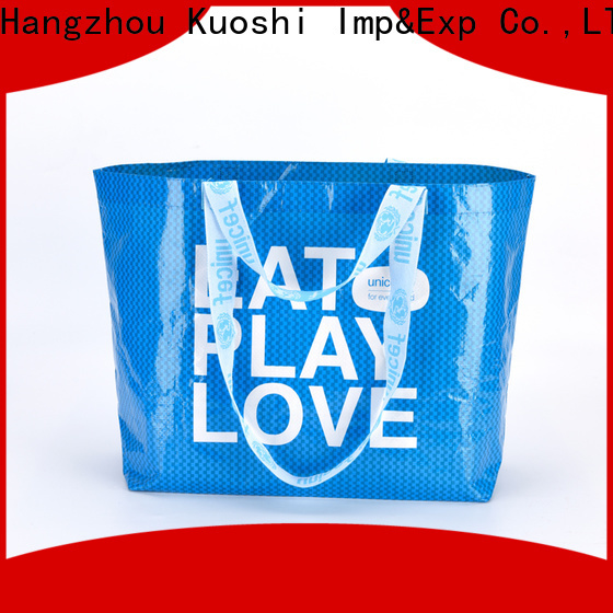 KUOSHI custom woven polypropylene bags suppliers company for park