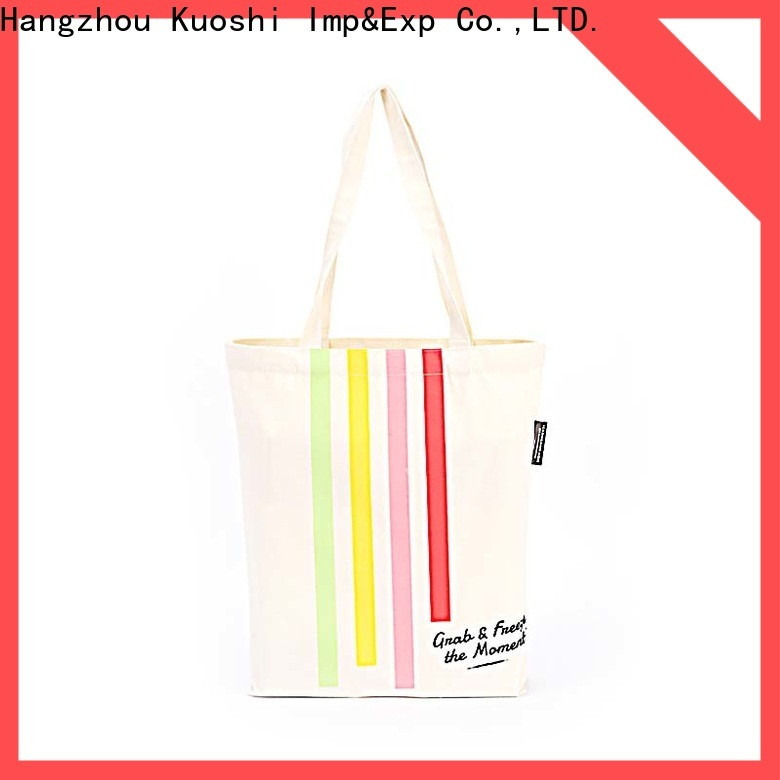 high-quality canvas bag tote eco company for events