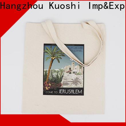 KUOSHI custom canvas tote bag design company for supermarket