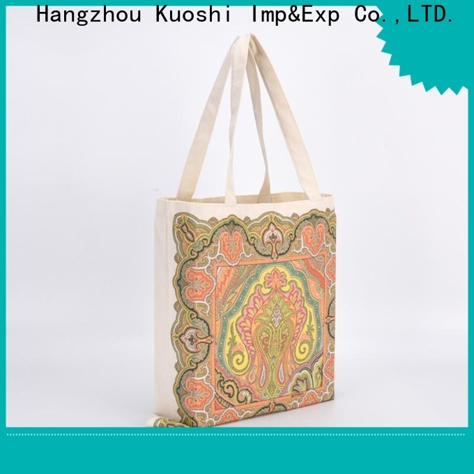 KUOSHI wholesale cotton wine bags factory for school