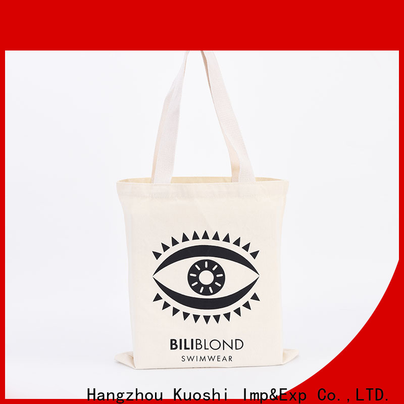 new small calico drawstring bags bag for business for trade shows
