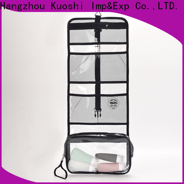 new pvc packaging bag company for cosmetic packaging